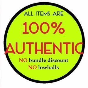 ALL ITEMS ARE 100% AUTHENTIC WITH RECEIPTS